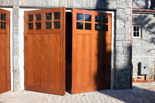 Swing Out Garage Doors High Quality Wooden Carriage House Garage Doors